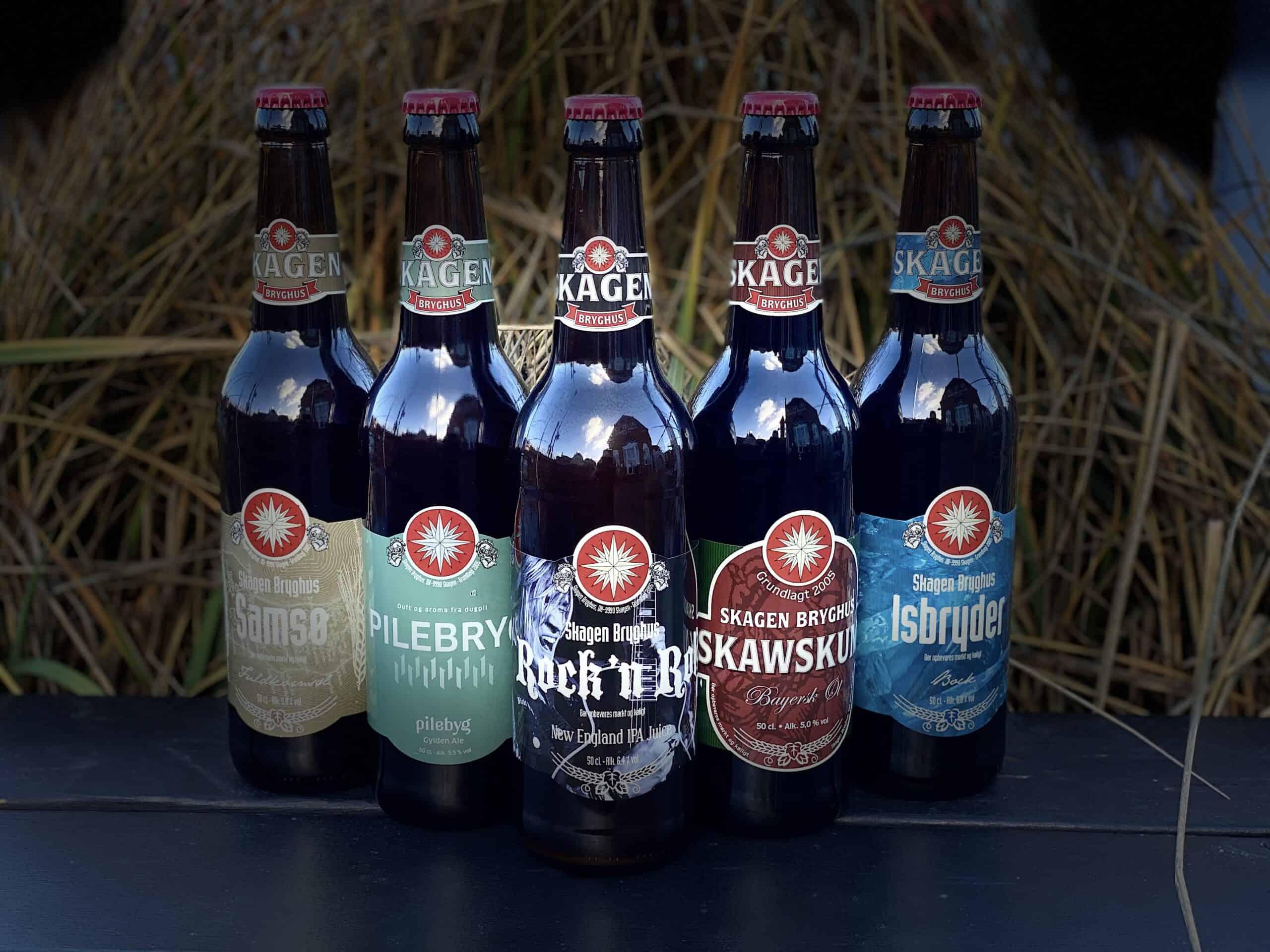 Bølgebryderen 15 øl a 50 cl.