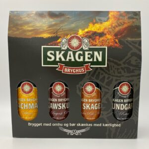 Gavekasse m/ 4 øl a. 50 cl.