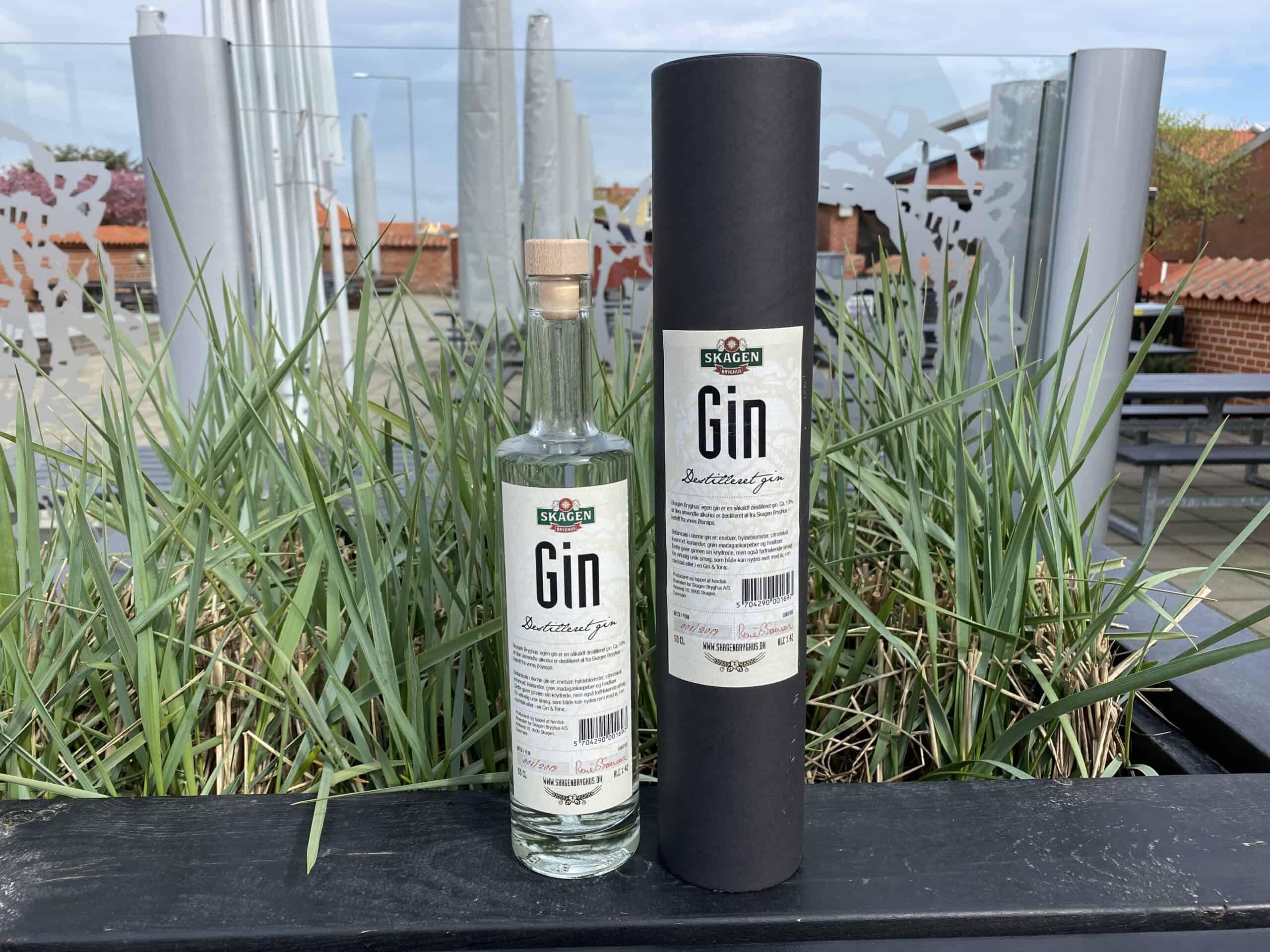 Skagen Bryghus Gin (Aktionærtilbud)