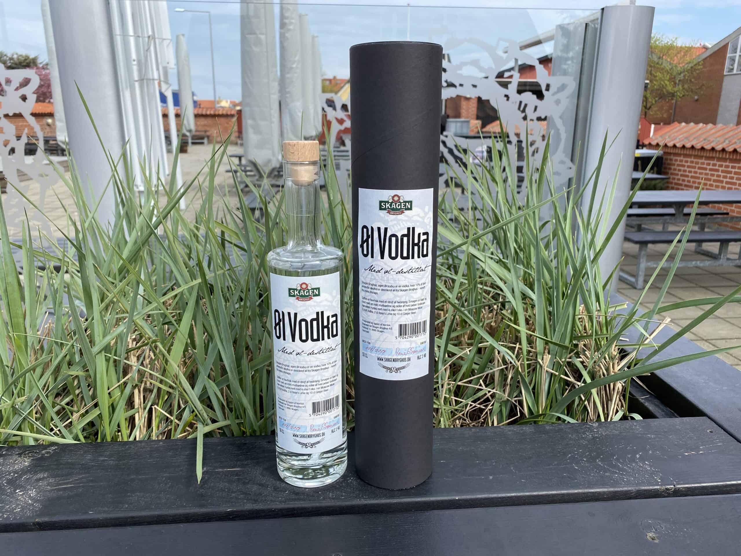 Skagen Bryghus Øl Vodka (Aktionærtilbud)