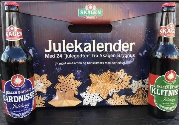 Julekalender 24 stk. 50 cl. øl