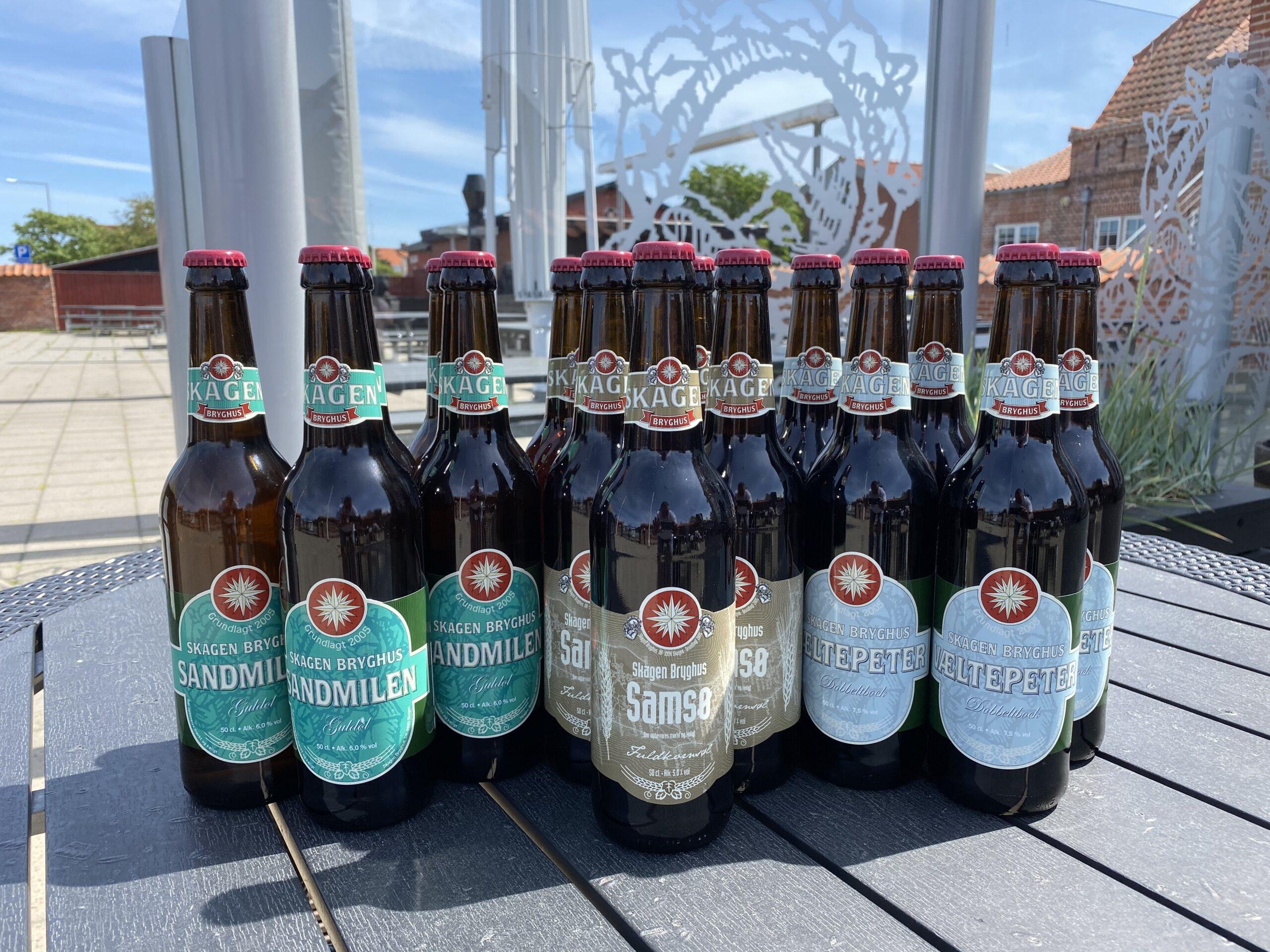 Junikassen 15 øl a 50 cl.