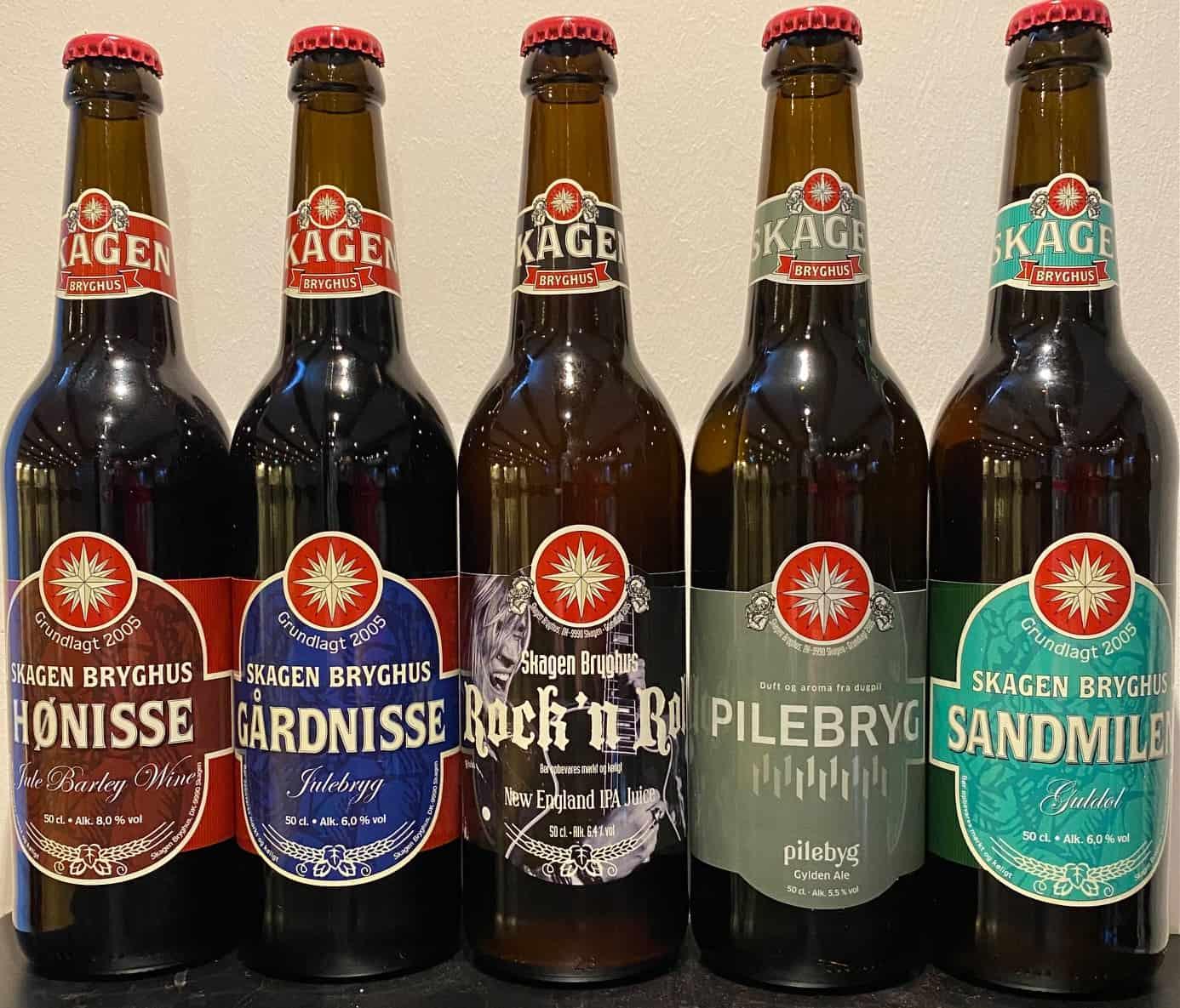Pilekassen 15 øl a 50 cl.