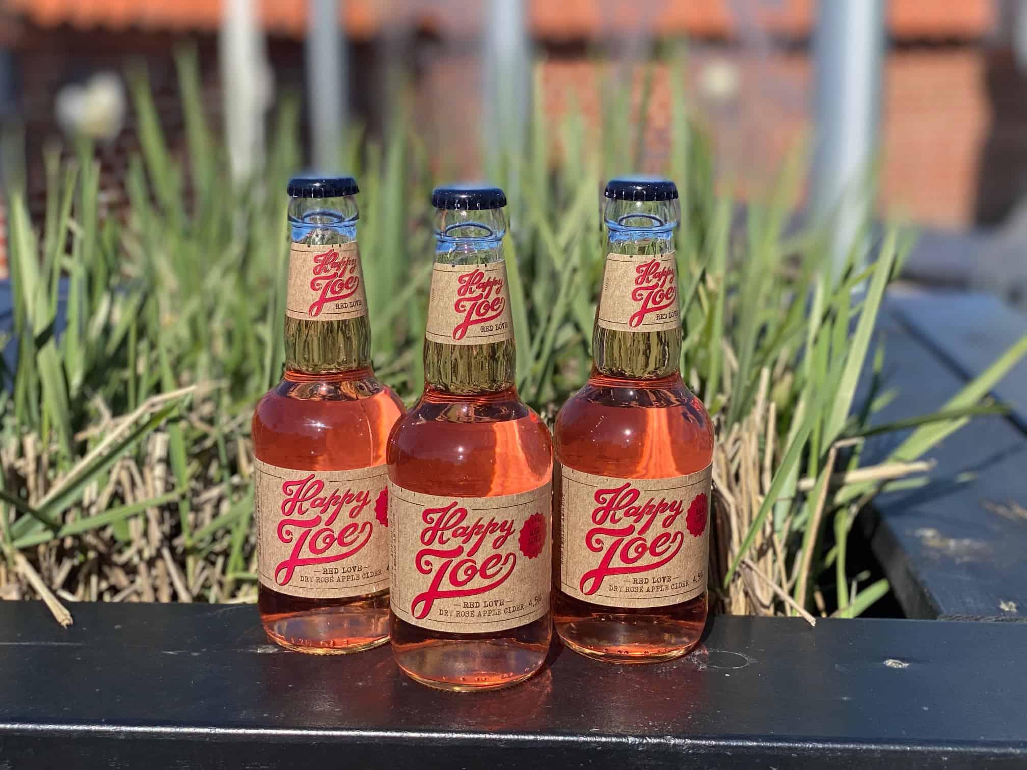 Happy Joe Rose' Apple Cider