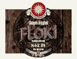 Floki Black IPA 15 øl a 50 cl.