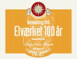Elværket 100 år 15 øl a. 50 cl.
