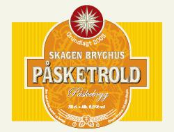 Påsketrold Påskebryg 15 øl a. 50 cl.