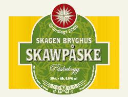 Skawpåske Påskebryg 15 øl a. 50 cl.