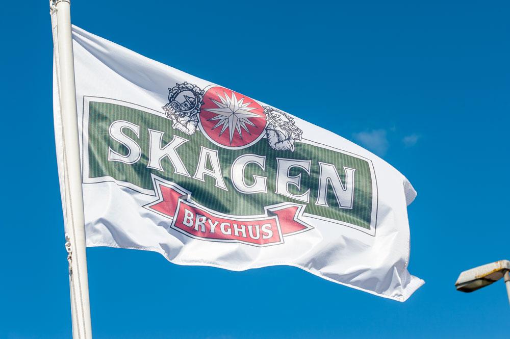Skagen Bryghus flag