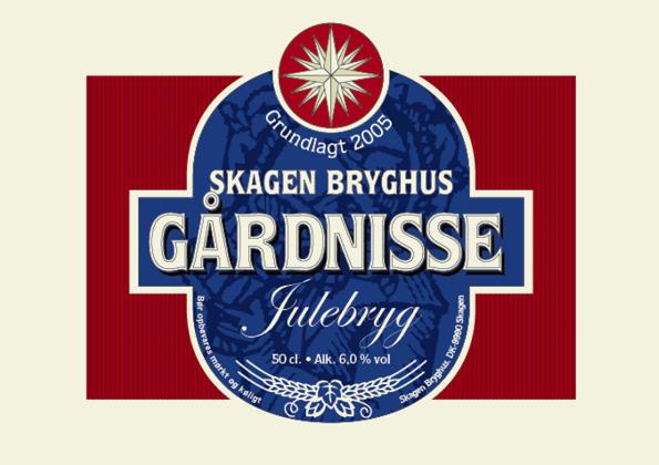 Gårdnisse Julebryg 15 stk. a 50 cl.